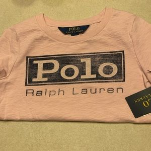 Toddler girl Polo Ralph Lauren tshirt